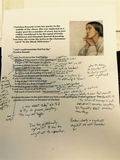 a poem don t annotate how to really annotate a poem