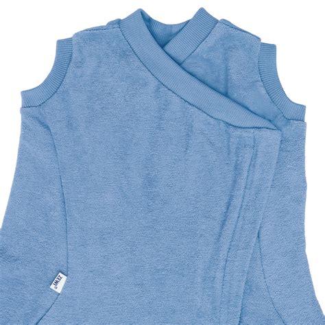 zewi fix decke mit gilet 90x200 cm blau babyjoe ch