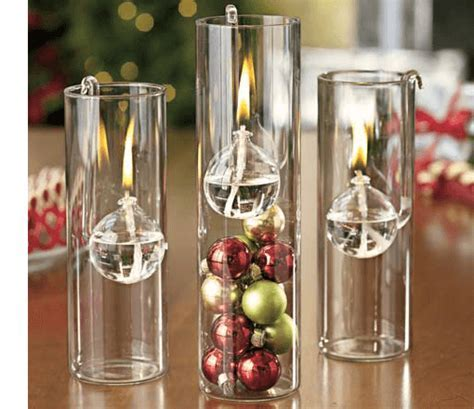 "Three pc glass oil candle set. 8"" high cylinders chimneys"