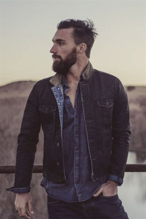rugged boy 40 manly beard looks for
