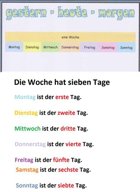 kinder der tage 3779504359 wochentage monate jahreszeiten deutsch ist so lustig wie unsere welt