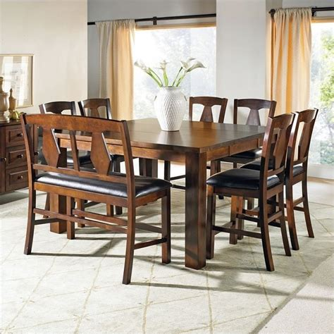 7 piece counter height dining room sets steve silver company lakewood 7 piece counter height