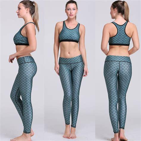 Setelan Bra 1 2017 fashion printing suit slim set running workout suit ladys