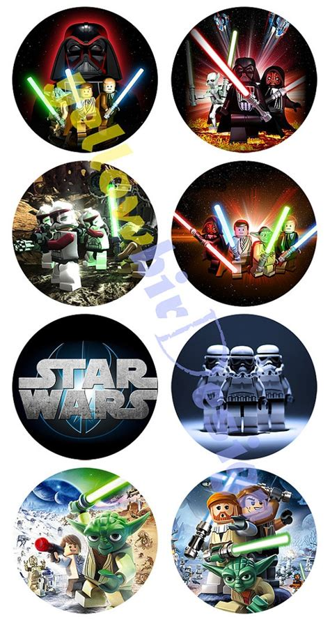 printable lego star wars cupcake toppers star wars lego printable cupcake toppers firetruck party
