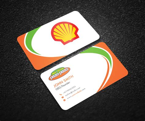Shell Business Card