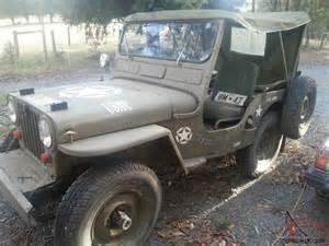 4 Wheel Drive Jeep Jeep Willys 4 Wheel Drive Rhd Road