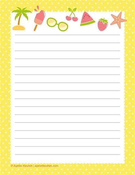 printable writing paper writing paper