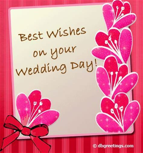 best wishes for wedding card best wishes things to wear wedding day