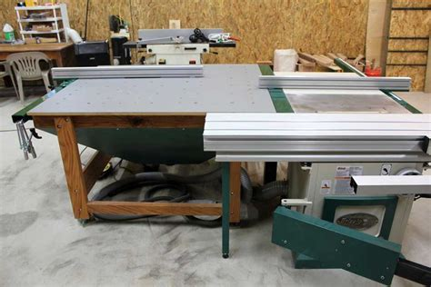 table saw router table sliding table saw with awesome router table setup