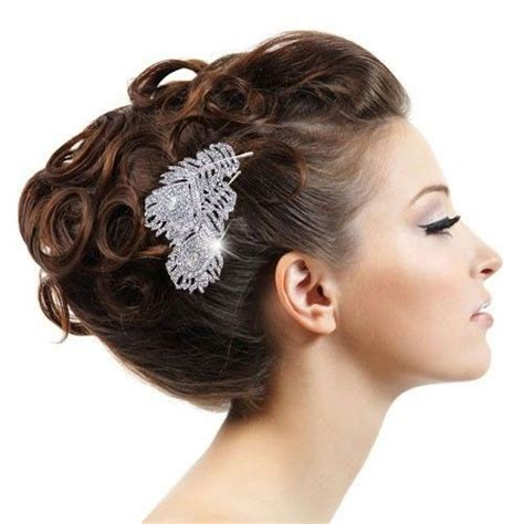 Wedding Hair Accessories With Feathers by Vintage Style Wedding Bridal Hair Comb Wedding Hair