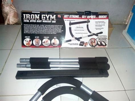 Iron Alat Fitness 5 jual iron alat fitness sit up push up bar fitnes