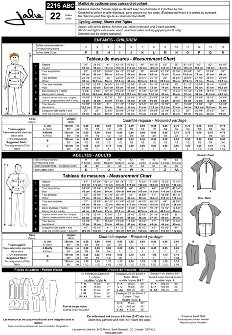 pattern review jalie jalie 2216 bike jersey shorts and tights