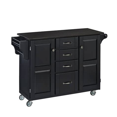 large portable kitchen island large black portable kitchen island