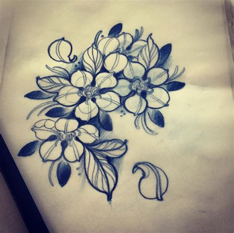 Tattoo Flower Neo Traditional | flower tattoo line black newtraditional rose