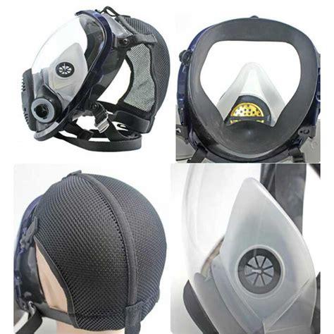 comfortable respirator comfortable large lens 6800 full face gas mask respirator