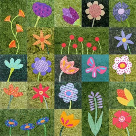 Free Flower Quilt Patterns by Free Butterfly Applique Pattern Shiny Happy World