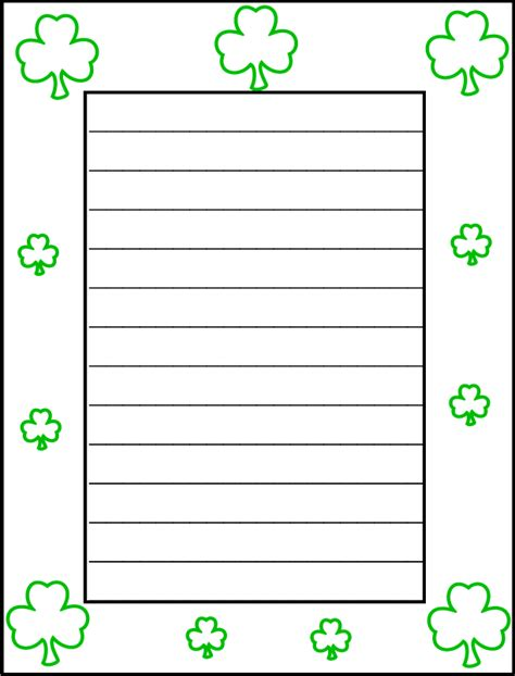 march printable stationary st day writing paper 28 images st s day writing paper