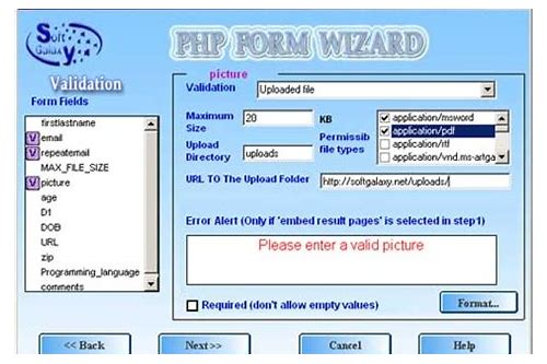 php form wizard download