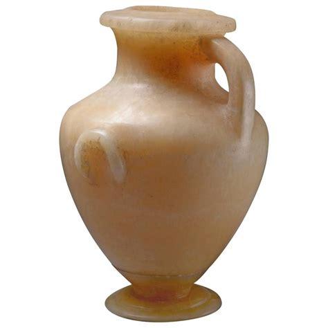 Alabaster Vase by Ancient Alabaster Vase 250 Bc For Sale