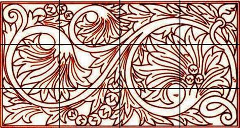 menggambar sketsa ukir motif jepara shona design