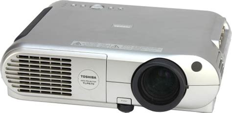 Lu Lcd Projector Toshiba toshiba tlp670 lcd beamer projektor 1300 ansi lu b ware