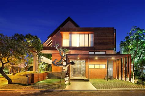 modern tropical house designs minimalist tropical house elegance by designs