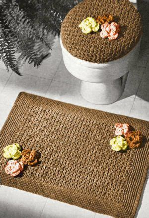using a wash cloth as a bath mat 142 best gehekelde toilet stelle images on