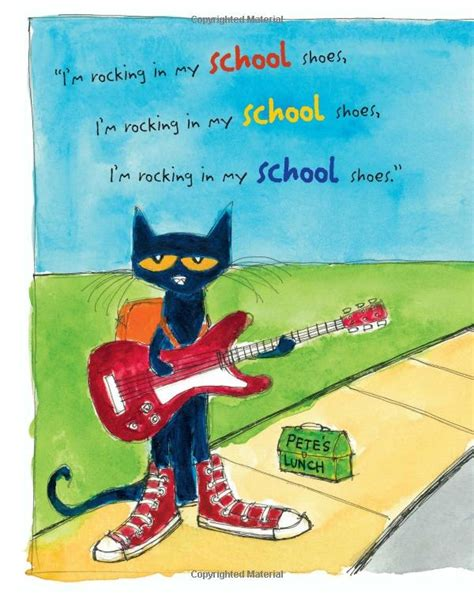 pete the cat rocking in my school shoes eric litwin