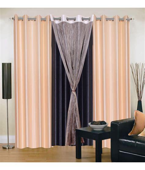 9 foot curtains decor vatika innovative combo of 9 ft curtain solid multi