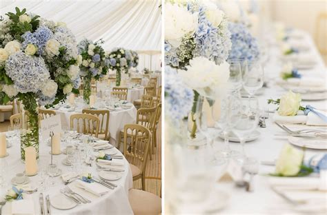 hydrangea themed wedding