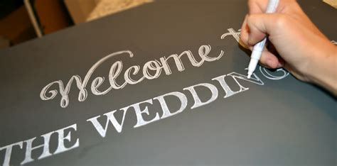 chalk paint diy sign diy chalkboard wedding signs a simple hack miss bizi bee