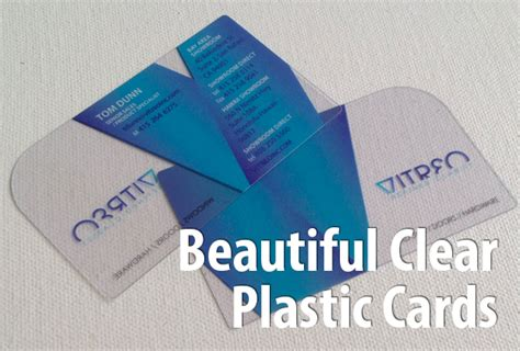Low Cost Plastic Business Cards