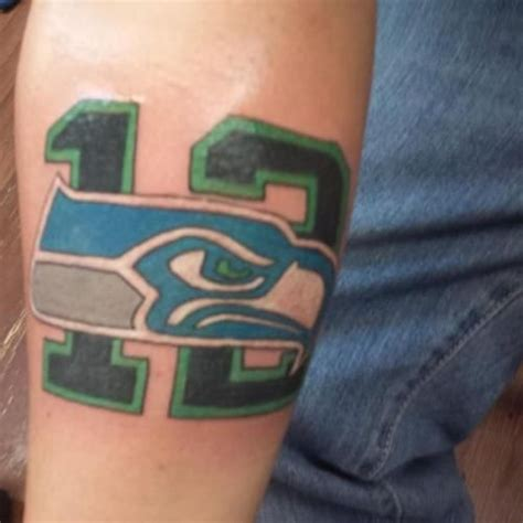 seahawk tattoos 17 best seattle seahawks s images on