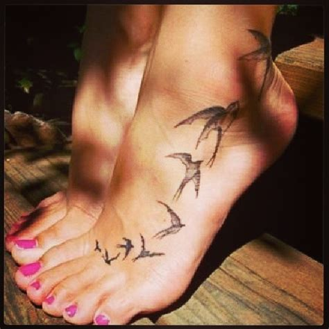 bird tattoo on foot bird tattoos on foot