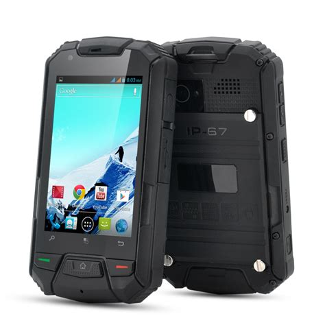 rugged android phone wholesale 3 5 inch rugged phone waterproof android phone from china