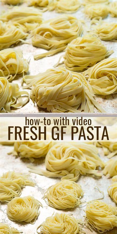 Handmade Pasta Recipe - gluten free pasta recipe great gluten free recipes that