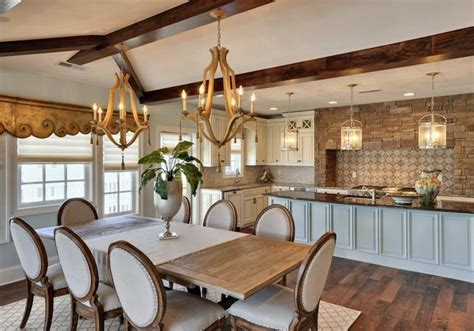 open plan kitchen  dining room design ldeas