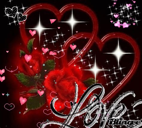 love you heart and roses heart rose picture 80221508 blingee com