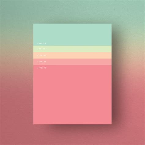 beautiful color palettes 8 beautiful color palettes for your next design project