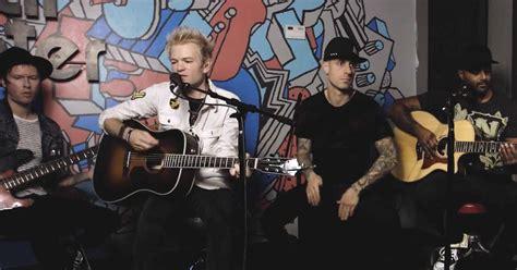 sum 41 s vulnerable new acoustic performances