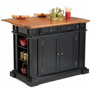 kitchen islands breakfast bar home styles island w breakfast bar black kitchen cart