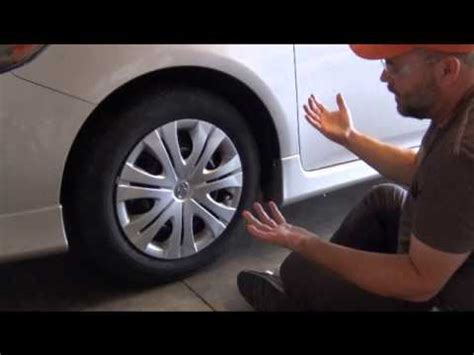 remove  plastic wheel cover hubcap youtube