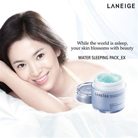 Jual Laneige Water Sleeping Pack 80ml korea laneige water sleeping pack ex