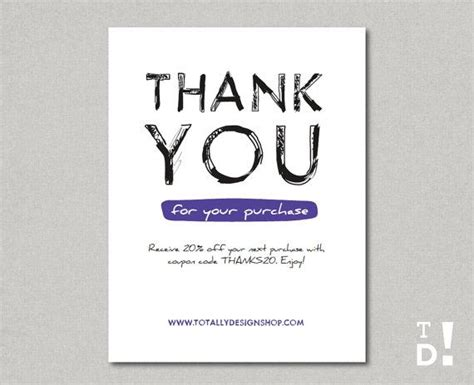 Card Template Buy by 41 Best Images About Business Thank You Cards On