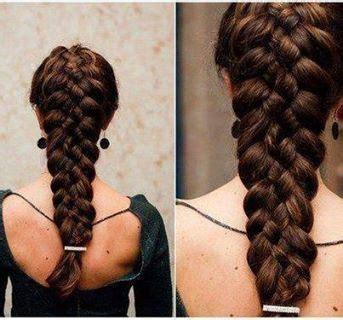 Thick Braid Extensions | 5 easy hairstyle tutorials with simplicity hair extensions
