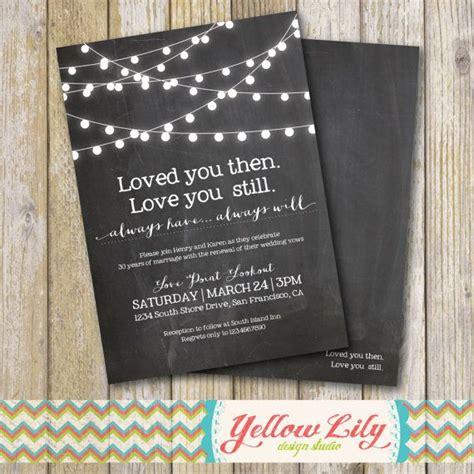 wedding vow renewal invitation ideas best 25 vow renewal invitations ideas on