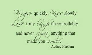 Audrey hepburn romantic quotes quotesgram