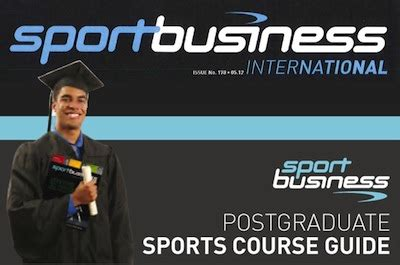 Sports Business International Mba Rankings by Sbsnews Anno 8 Numero I E A Treviso Il Master In