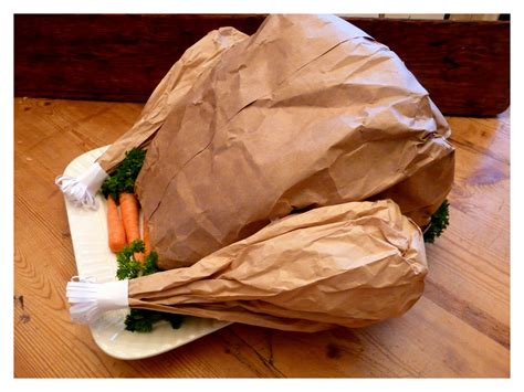 How To Make A Paper Bag Turkey - turkey made from paper bag images
