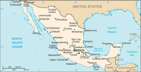 blank map  central america  mexicoat